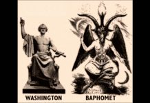 President, George Washington, Poses as Baphomet, Magic in Plain Sight