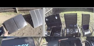 DIY Solar Generator, Portable Power Station & Foldable Renogy Panels