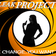 Lady 007 LeakProject Decal