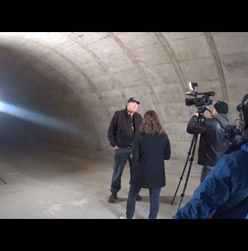 ELE 9-23 Documentary Crew Interviews Leak Project & Local News On Scene xPoint Bunkers