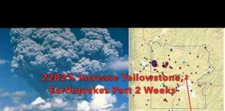 Its Hot - 2282% Increase in Earthquakes Around Yellowstone Past 2 Weeks - June 2017