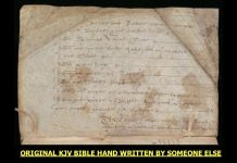 The Holy Bible was Created by 6 Corporations in the 1600's - Original Handwritten Translations