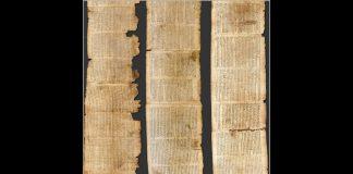 "The Dead Sea Scrolls ""Genesis, Noah, God Opens the Floodgates"" 2,000 Y/O Hebrew Text Translated"