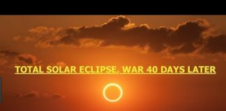 Total Solar Eclipse, 8/21, War Starts 40 Days After, Hawaii Hands Out Emergency Prep Packs