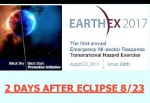 "Massive ""Black Sky"" Drills 2 Days After Eclipse, 1 Month Before Revelation 12, Reset Power Grids"