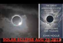 John Hogue, Solar Eclipse 8/21/17, Unprecedented Earthquakes & Tsunamis, Antichrist Revealed