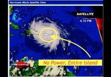 No Power in Puerto Rico, Curfews Set, Hurricane Maria & 3.4 Million People Unhinged