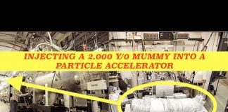 2,000 Year Old Mummy Injected into Particle Accelerator
