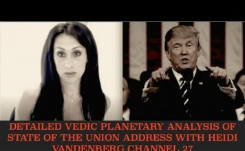Discussing State of the Union Address & Vedic Planetary Alignment Analysis