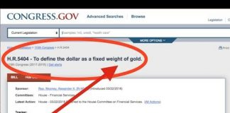 Republican Bill to Bring Back the Gold Standard H.R. 5404